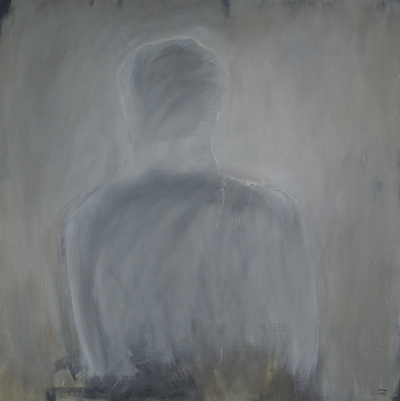from within, huile sur toile